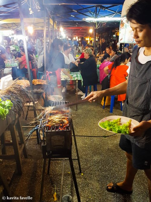 Chang Phueak Market in Chiang Mai Thailand
