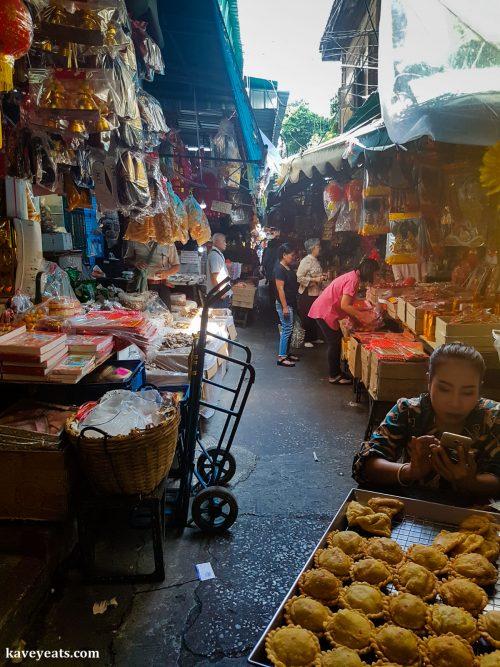 Talat Kao in Bangkok Chinatown Thailand