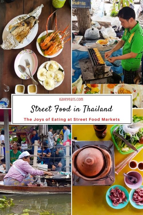 Thailand Street Food Collage