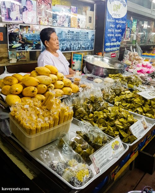 Warorot Market (Kad Luang) in Chiang Mai Thailand