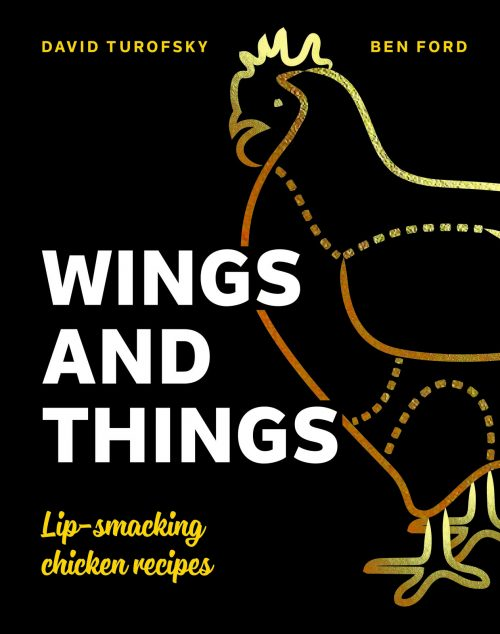 Wings and Things cookbook cover