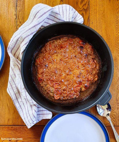 Homecooked Syrian Lamb Koftas with Tahini sauce