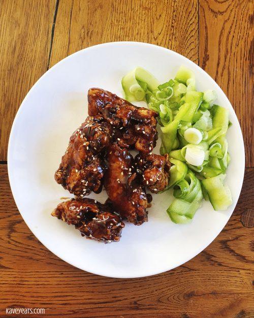 Hoisin Buff Ting Chicken Wings