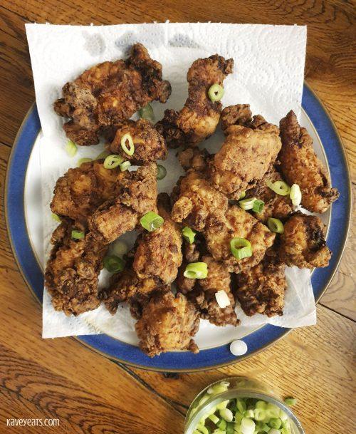 Scechuan Salt and Pepper Chicken Wings