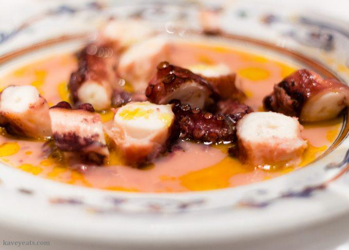 Pulpo (Octopus) Murcian style