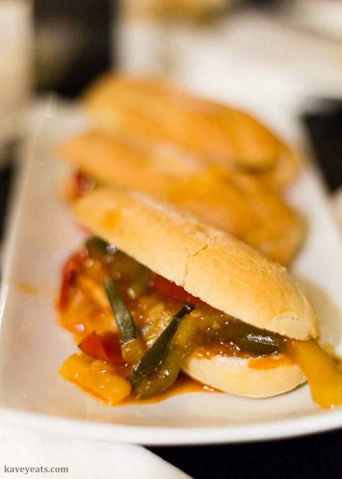 Tabernero in sandwiches