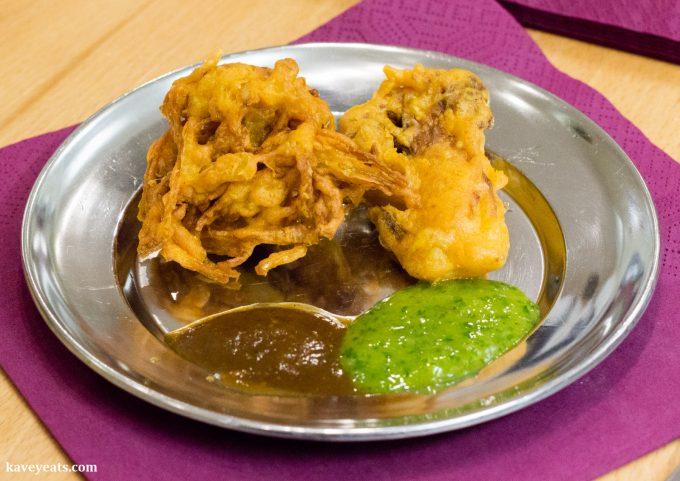 Fresh Onion Bhaji / Pakora