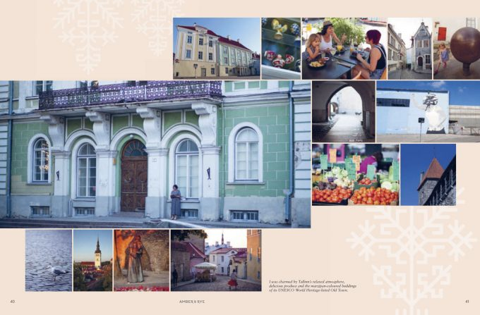 Tallinn photography from Amber and Rye cookbook
