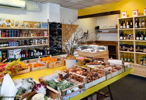Inside Angel Bakery in Abergavenny