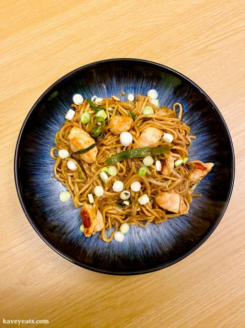 Home-cooked Chicken Chow Mein
