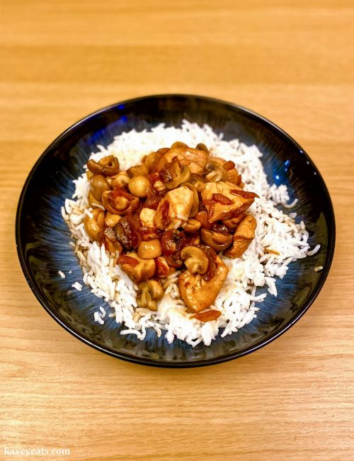 Home-cooked Chinese Chicken and Mushrooms