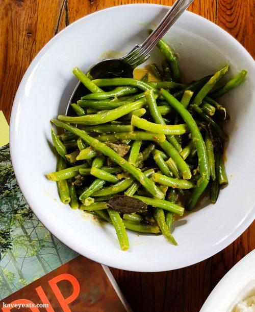 Sri Lankan Snake Bean Curry