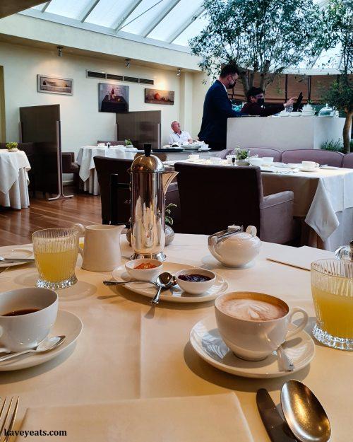 Breakfast at Le Manoir aux Quat' Saisons