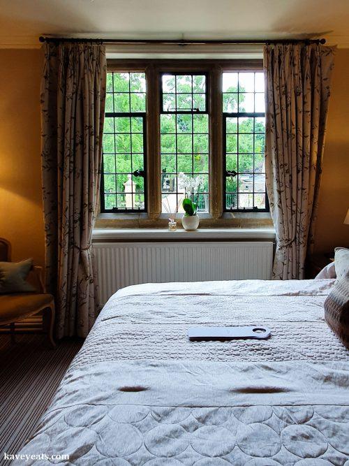Bedroom at Le Manoir aux Quat' Saisons