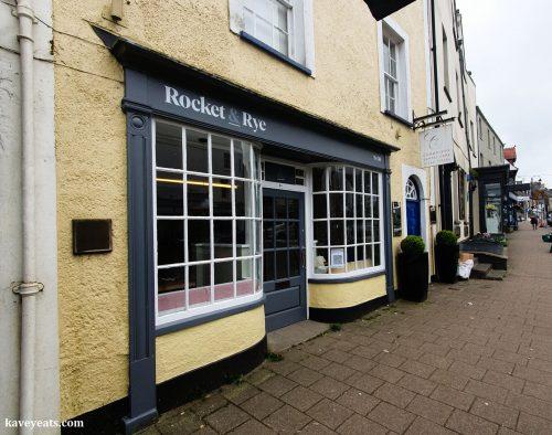 Exterior of Rocket & Rye restaurant in Cowbridge