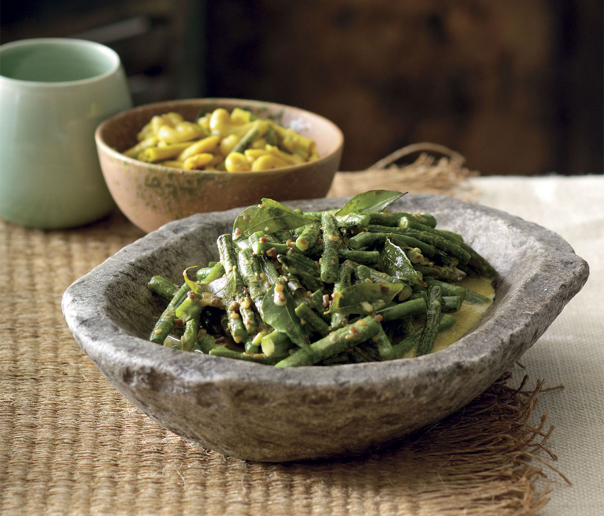 Sri Lankan Snake Bean Curry