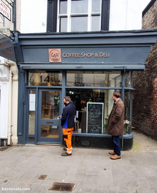 The Gaff Cafe Deli Exterior