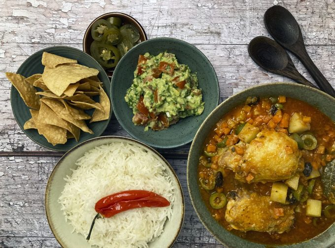 Variety of dishes from Mexican Home Kitchen