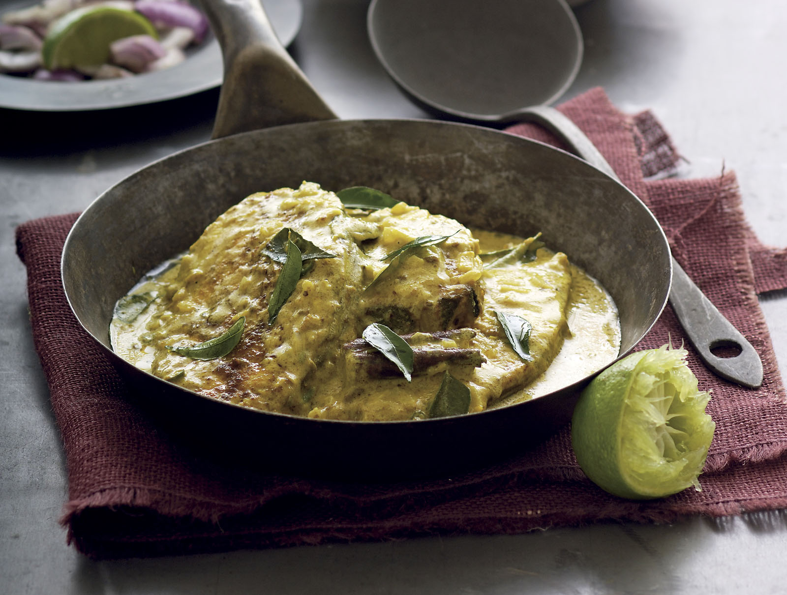 Sri Lankan White Fish Curry