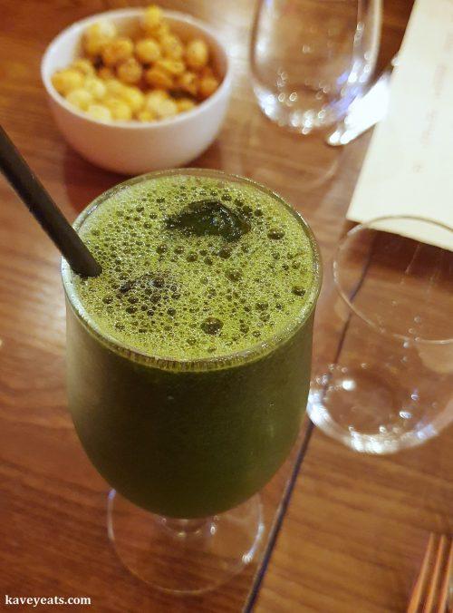 Soft drink - mint and lemon