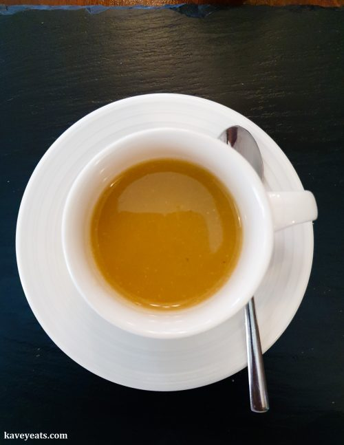 Ginger and Melon Soup