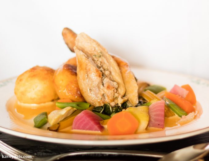 Roast Ballotine of Chicken, Stuffed with Sage and Onion