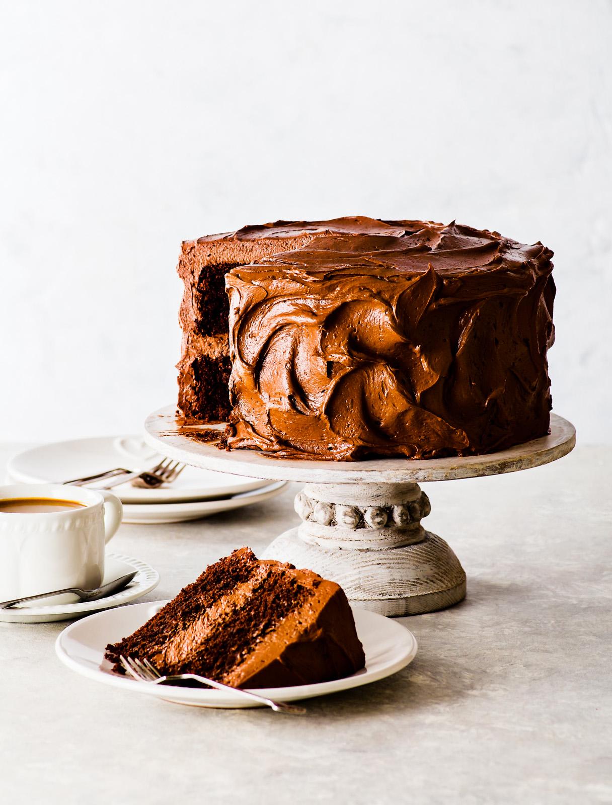 Super-Moist Gluten-Free Chocolate Cake
