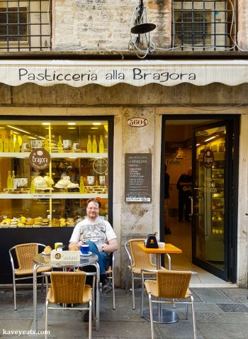Coffee Break in Venice Italy