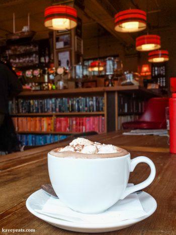 A cafe in Reykjavík, Iceland