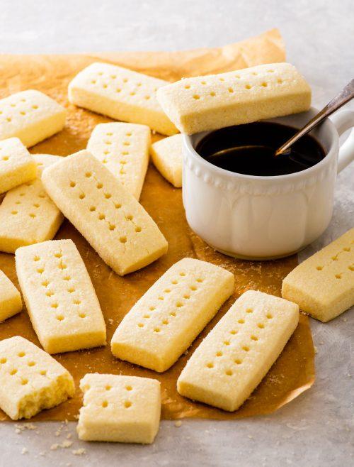 Gluten-Free Shortbread Biscuits/ Cookies