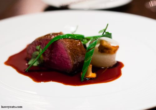 Bybrook Restaurant in Manor House Hotel in Castle Combe, Wiltshire