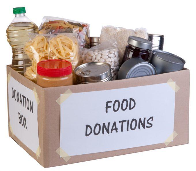 food bank donations box